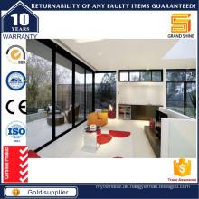 Bester Verkauf Aluminium Außenseite Schiebetür Terrasse