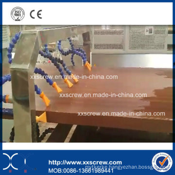 PP PE PVC Wood Plastic WPC Profile Extrusion Machine