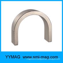 U shape horseshoe neodymium arc magnet