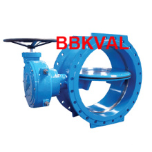 Wras Approved Double Eccentric Double Flange Butterfly Valve