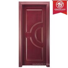 China Cheap, mais la qualité des portes en stratifié personnalisé, MDF moulant la porte de la chambre intérieure