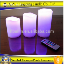 3 stycken Amber Flickering Flame Light LED-ljus