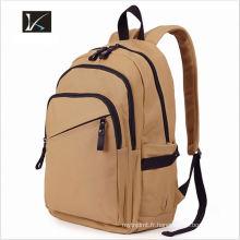 Gros sac à dos d'école de toile de mode de marque coréenne, sac à dos d'école intelligent d'enfants