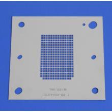 Grundplatte Kupferpartikel-Positionierungsvorrichtung Gitterstück