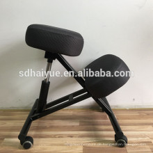 HY5001 Ergonomic Posture Kneeling Chair - Black - Suitable for Light Office Use to Promote Good Posture