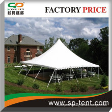 Factory price used outdoor event pvc 18x36m single pole tent cheap