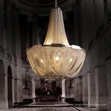 Lámpara de cadena contemporánea de metal cromado Lámparas de iluminación moderna 71155