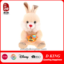 Happy Easter Rabbit Toy with Egg