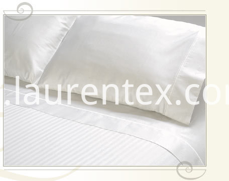 hotel sateen and stripe sheets