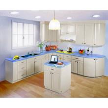 Material de PVC para hacer el gabinete de cocina