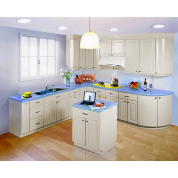 PVC Material for Making Kitchen Cabinet
