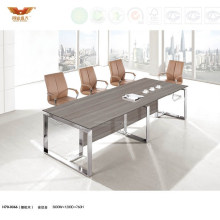 Hot Sale Melamine Office Conference Furniture Table for Meeting (H70-0366)