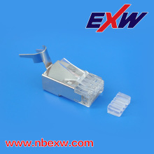 Conector de Metal cat6e Ethernet