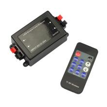 Controlador remoto inalámbrico DC12V-24V 11key LED para tiras LED de un solo color