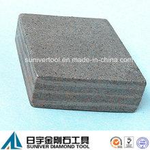 Múltiples capas 30mm alto segmento diamante para el corte de materiales abrasivos