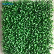 anti uv evergreen artificial grass boxwood mat