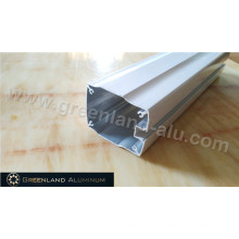 Aluminium Track Profile for Curtain Blinds with Deep Processing