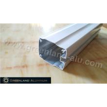 Perfil de perfil de alumínio para cortinas com processamento profundo