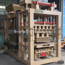Venda quente na máquina de fabricação automática de blocos de concreto da Zâmbia e Índia