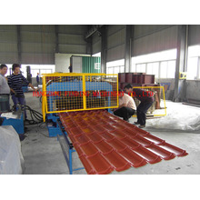 Toiture tuile profils Double couche Roll Forming Machine de fabrication