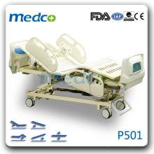 P501 Нормальная больничная электрическая кровать со шкалой