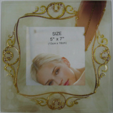 Classical And Elegant Glass Photo Frame
