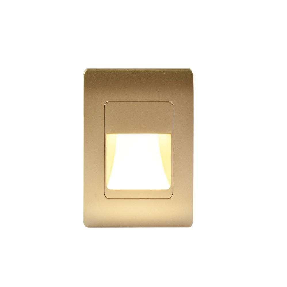 QJ03-KU68-MV Warm White Microwave Sensor LED Step Light