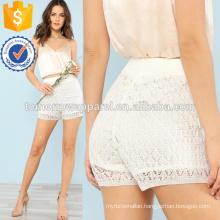 Knitted Mesh Shorts Manufacture Wholesale Fashion Women Apparel (TA3020B)
