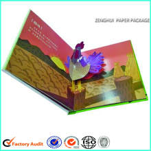 Hardcover Children 3D Book Printing