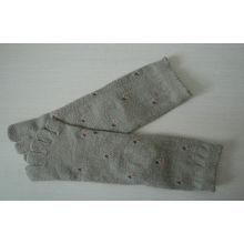 Cotton Comfortable Five Toe Socks , Jacquard Terry-loop Socks In Spring