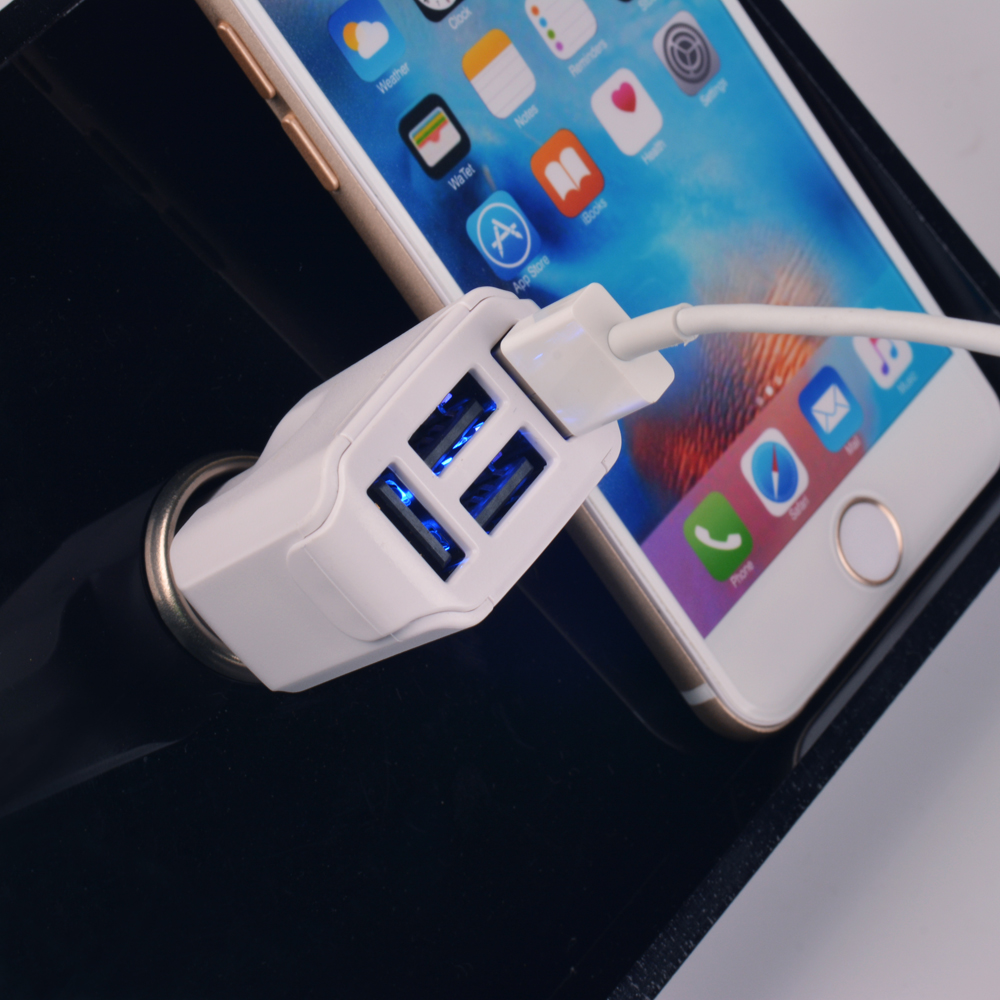 5V8.2A Car Charger 4 USB Ports