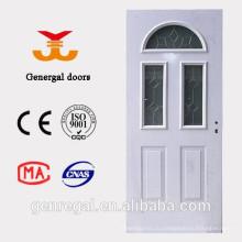 Роскошь утепленный стальная деревянная дверь пены полиуретана