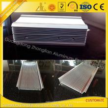 Extrusion en aluminium d'évier de la chaleur de Customzied pour le radiateur en aluminium de LED