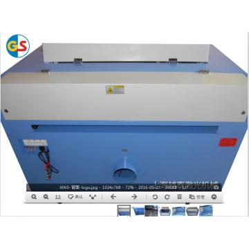 Поставка завода CO2 Стеклянная трубка Мини лазерный гравировальный станок (GS9060) с высокой скоростью резки