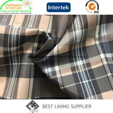 100 полиэстер 290t большой Тафта проверить Подкладка Подкладка для мужской костюм куртка