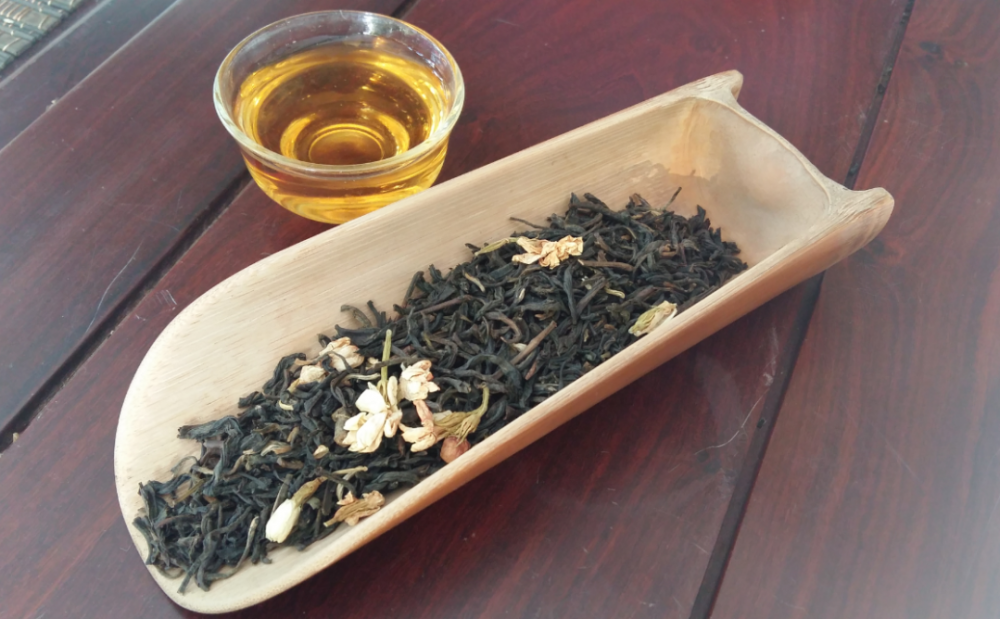 Black tea with jasmine