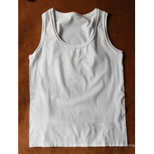 Seamless Basic Plain Full Back Vest For Ladies