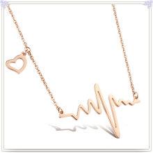 Moda jóias de aço inoxidável pingente colar de moda (nk296)