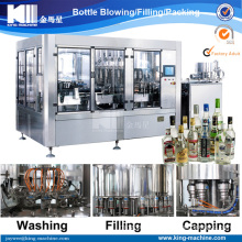 Automatic High Speed Alcohol Wine/Vodka/Beer Filling Machine