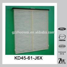 Année de voiture 2013-2014 MAZDA CX-5 MAZDA 6 CABINE AIR FILTER KD45-61-J6X