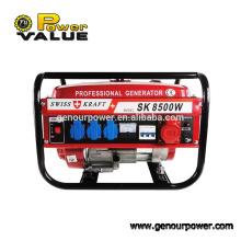 Precio competitivo Generador suizo de la gasolina de Kraft 8500w con el generador automático del motor