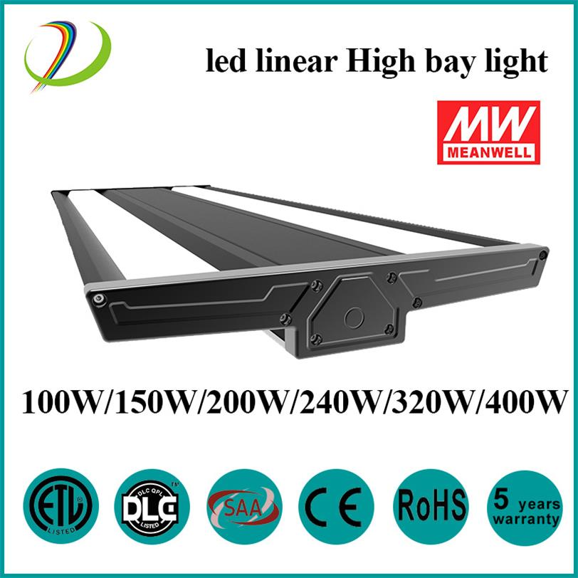 DLC / ETL 150W LED Linjär HighBay Light