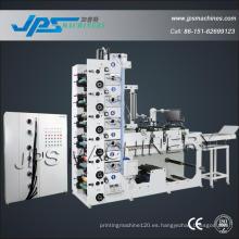 Máquina plástica de la impresión del rodillo de la película de Jps480-6c-B para el PVC / PE / OPP / animal doméstico / PP / BOPP / BOPE