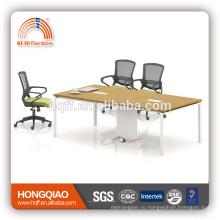 (МФЦ)ХТ-03 современный конференц-стол из нержавеющей стальная рама 6м конференц-столы для продажи
