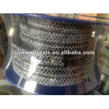 Fibra Carbonizada Trançada Embalagem