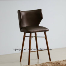 (SP-HBC438) Restaurant Furniture Leather Louis Bar Chairs for Sale