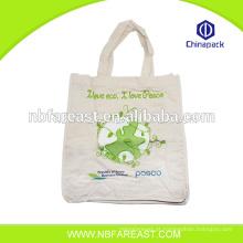 Fábrica de material barato têxtil saco de compras