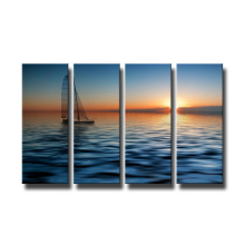 Cheap Latest Boat Canvas Prints Wall Painting
