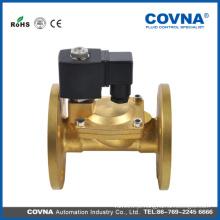 Solenóide de válvula de vapor de preço baixo válvula de flange 12v 24v