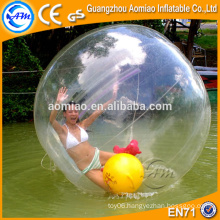 Inflatable sticky smash water ball floating water running ball
